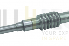 401029 Vollmer Worm shaft